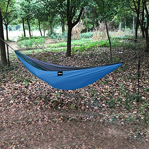 UBOWAY Unique Underquilt Hammock - Outdoor Sleeping Bag for Camping, Backpacking, Backyard(Sky Blue)