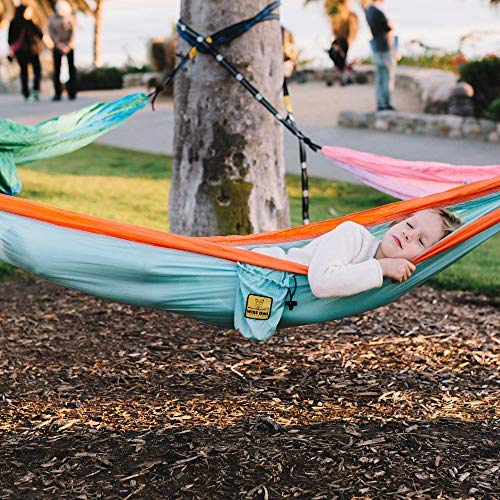 Wise Owl Outfitters Kids Hammock for Camping: Blue