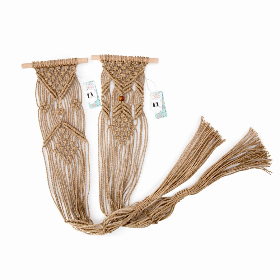 Macrame Indoor Wall Hanging Planter Basket