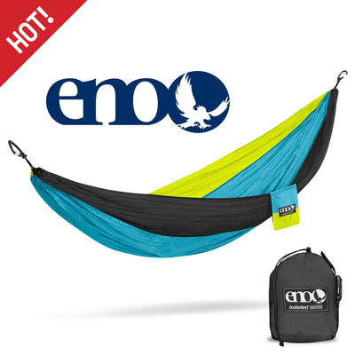 ENO - Eagles Nest Outfitters DoubleNest Lightweight Camping Hammock, 1 to 2 Person, Special Edition Colors, CDT