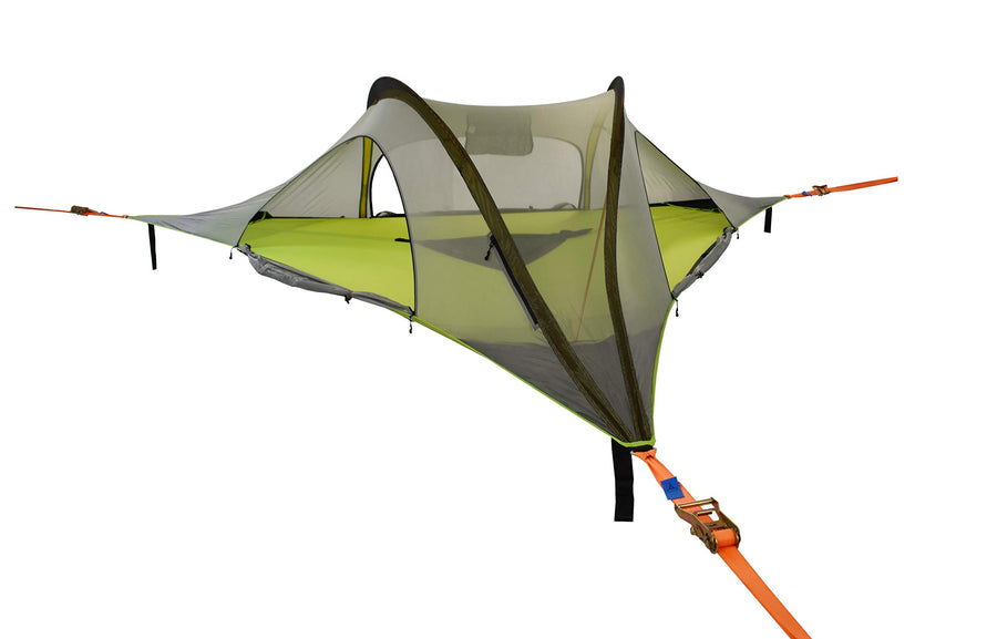 Tentsile Stingray 2020 Model 3 Person Portable Tree Tent: Forest Green