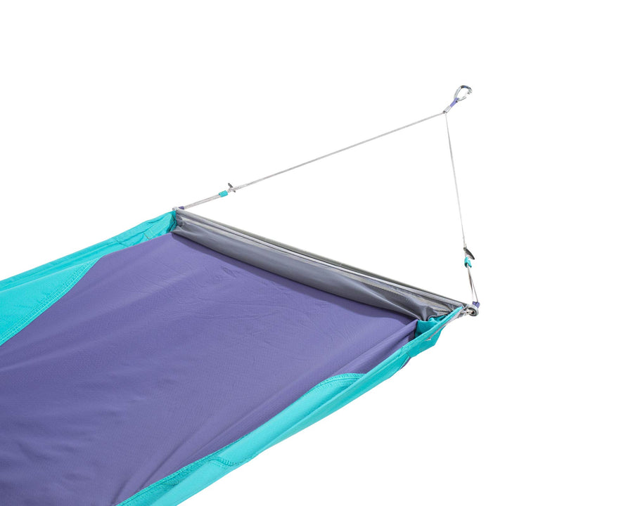ENO Skyloft Hammock with Flat and Recline Mode: Grey/Seafoam