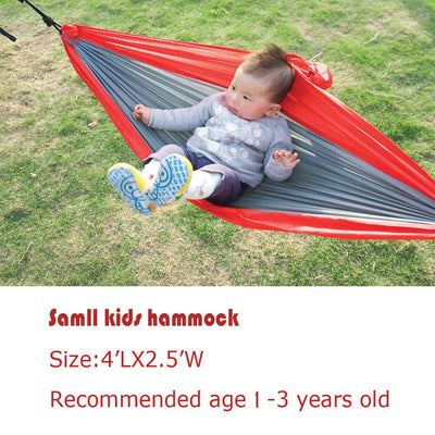 Hammock for Kids: Red