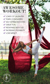 Professional 11 Yards Aerial Silks Equipment for All Levels