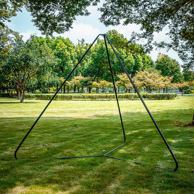 TopEva Triangle Swing & Hammock Stand Frame for Outdoors Play