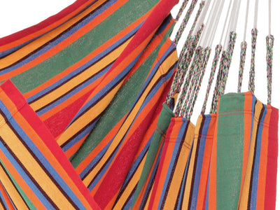 Colombian Hammock Chair: Red and Green Stripe
