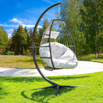 Barton Luxury Wicker Hanging Chair Swing Chair