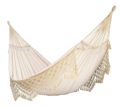 Organic Cotton Hammock with CasaMount Black Multipurpose Suspension
