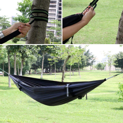 Hammock with Mosquito Net and Rain Fly Outdoor Hammocks Tent