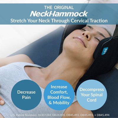 The Neck Hammock for Neck Pain Relief and Physical Therapy