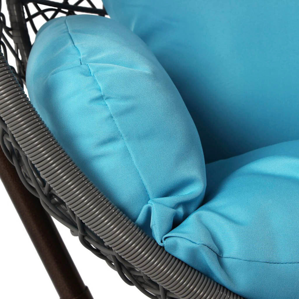 outdoor wicker hanging egg chair 6 colors hammock town