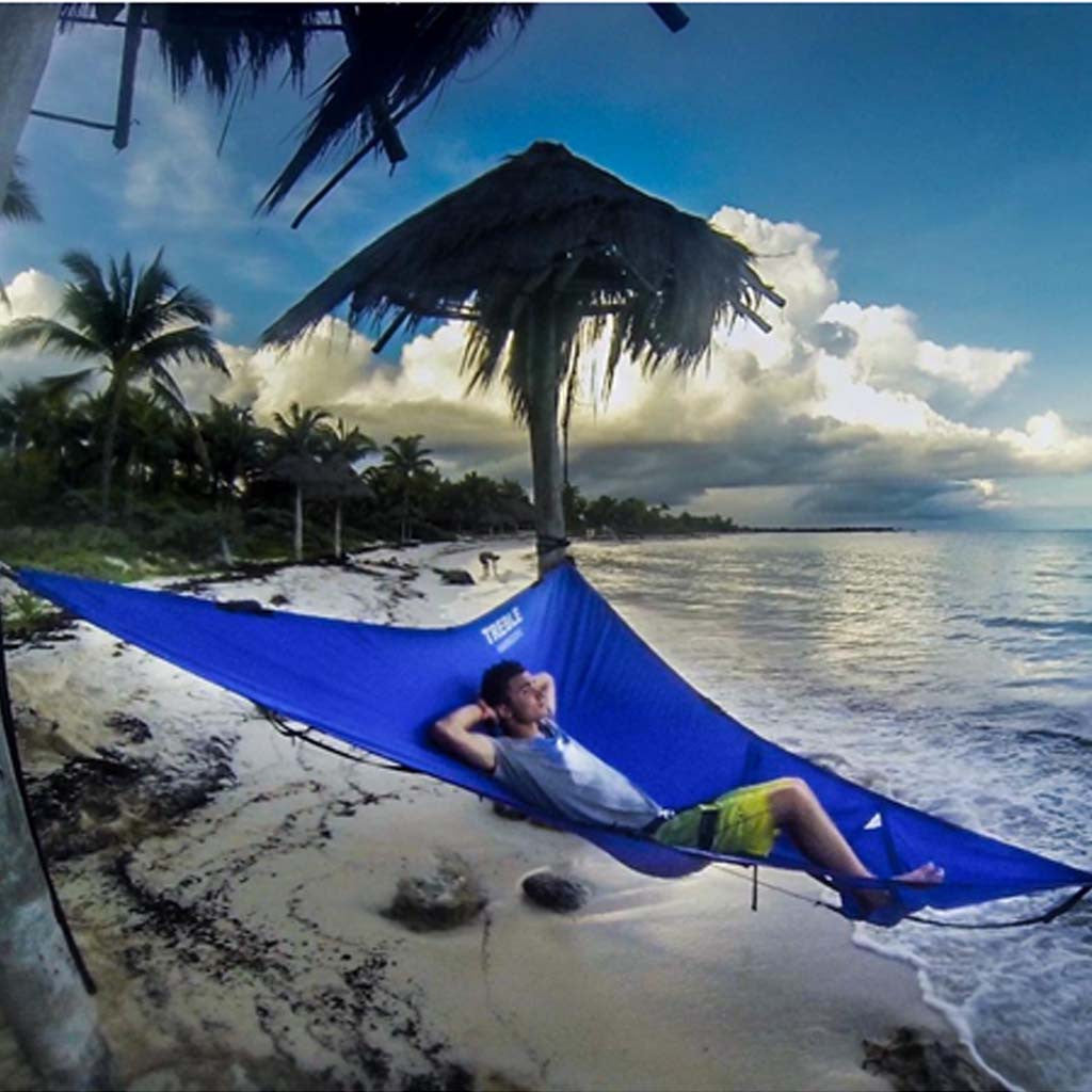 Treble Hammock Most Comfortable Ergonomic Hammock