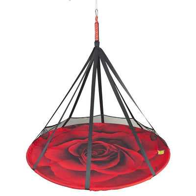 Rose Blooming Lounge Hanging Chair | Flower House