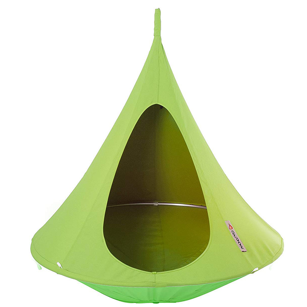 Bonsai Cacoon Hanging Tent for Kids in Leaf Green
