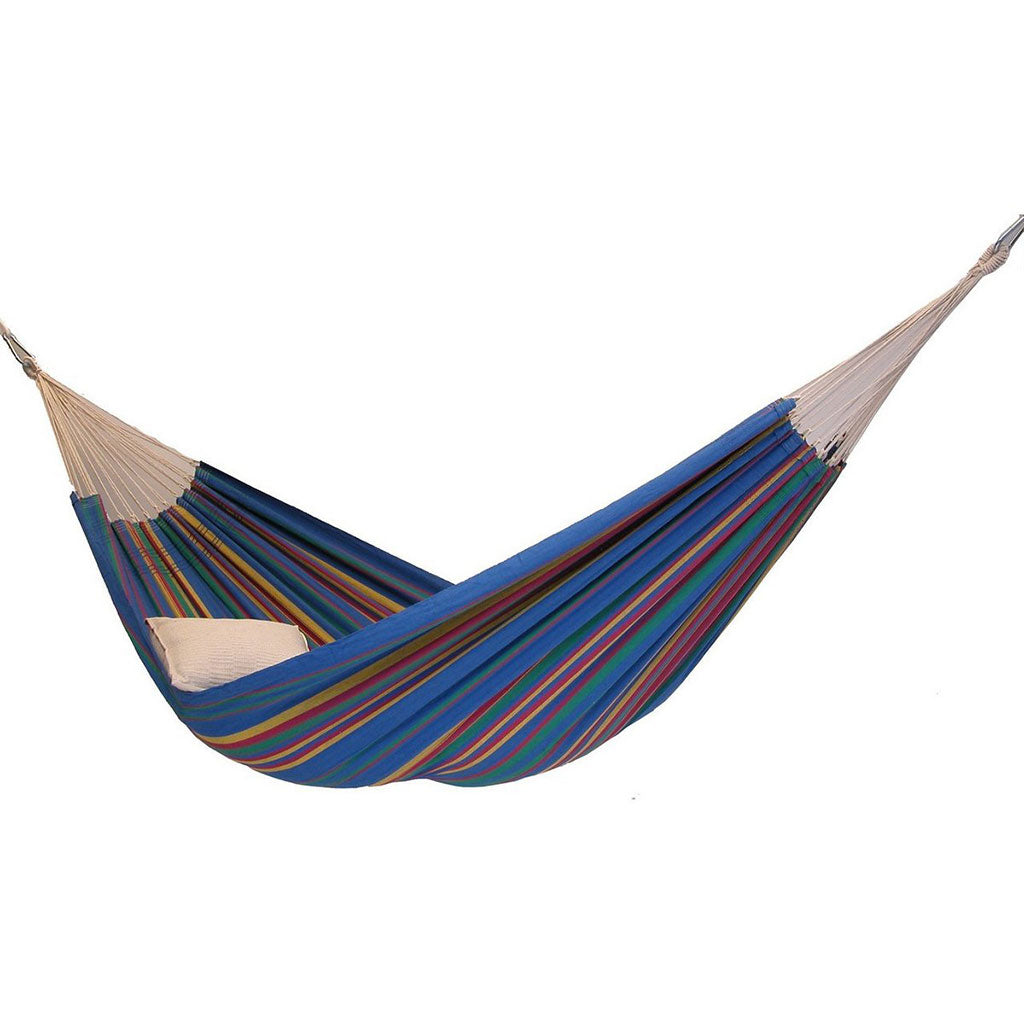Barbados Single Brazilian Hammock: BlueSky