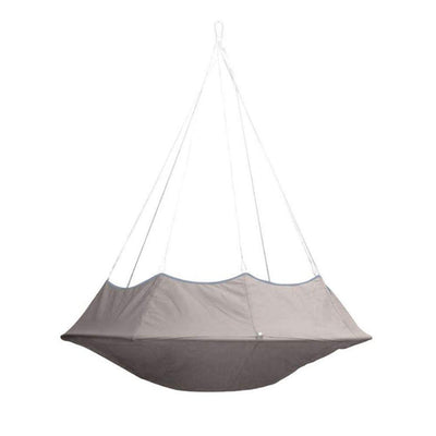 Lullio Double Hanging Chair: Taupe