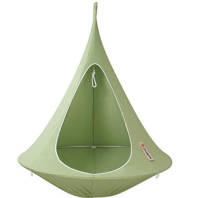 Single Cacoon Hammock: Leaf Green