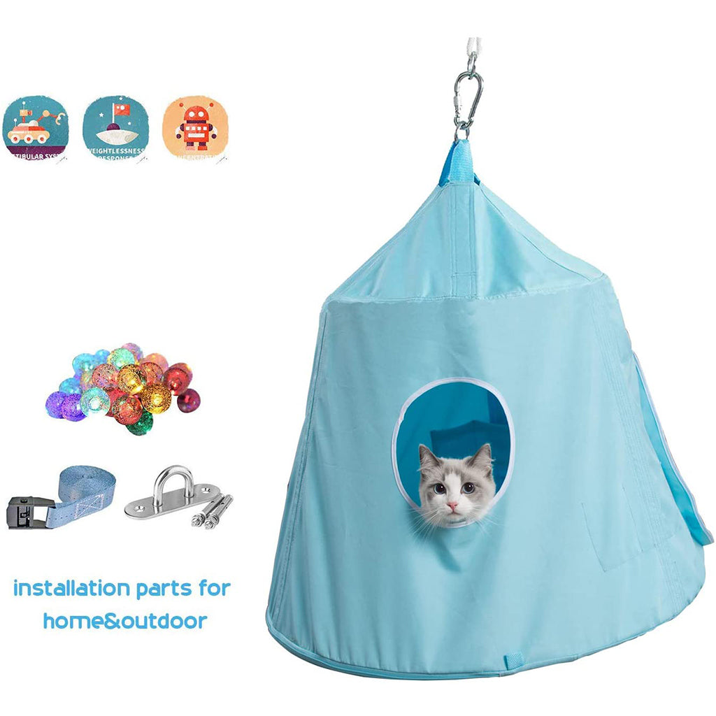 Comfortable Hanging Hammock Bed Tent for Cats Dogs
