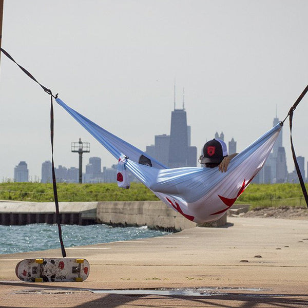 Chicago Flag Hammock