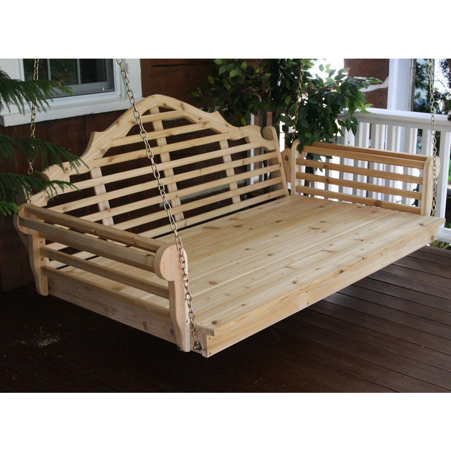 Marlboro Daybed Swing: GRAY Stain