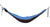 Double Hammock: Sluice Hammocks (Black and Blue)