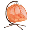 Double Hanging Egg Chair with Stand by FlowerHouse Hanging Furniture