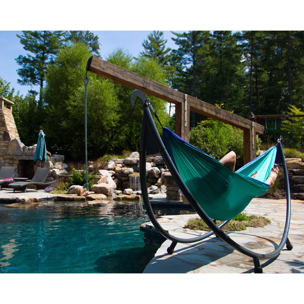 stands beam hammock home beige a the tri on metal depot stand ft p algoma