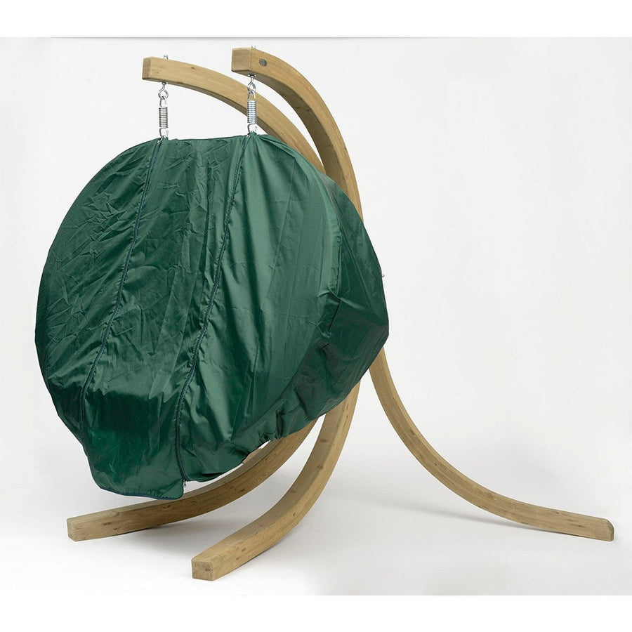 Globo Royal (Double) Hamock Chair Weather Resistant Cover: Green