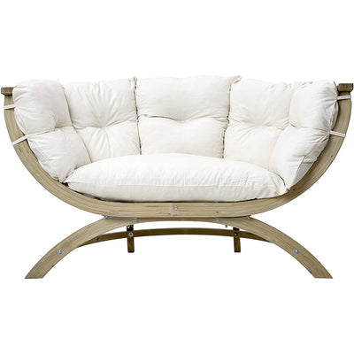 BYER OF MAINE, Globo Sienna Due Double Chair: Natural