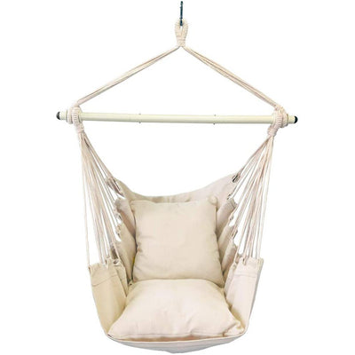 Hammock Chair Swing Seat for Any Indoor or Outdoor Spaces