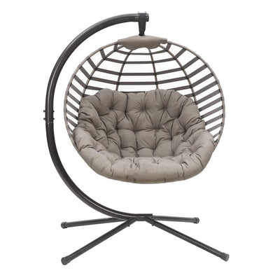 Modern Hanging Ball Chair with Stand | Flower House