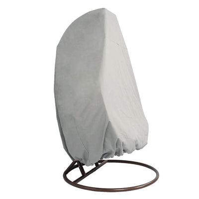 Single Hanging Chair Cover: Light Grey