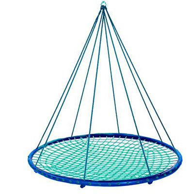 HearthSong Giant Outdoor Hanging Round Platform Swing