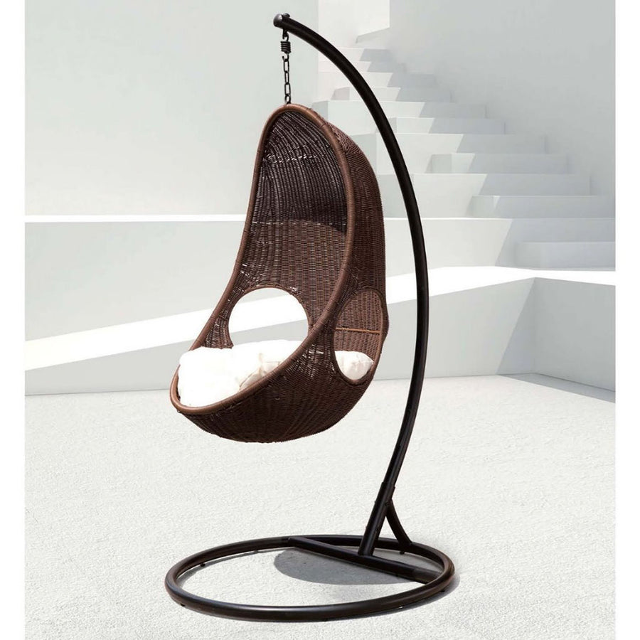 Soft Touch Cozy Hanging Egg Chair