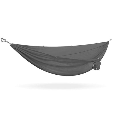 Kammok Roo Double Hammock: Granite Gray