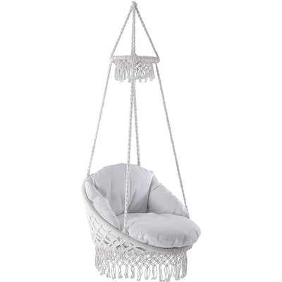Macrame Chair With Fringes | Vivere
