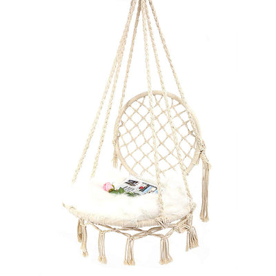 Handmade Knitted Macrame Swing
