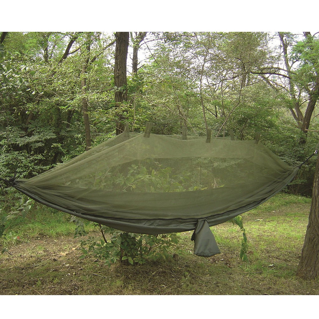 Mosquito Net Hammock in Olive