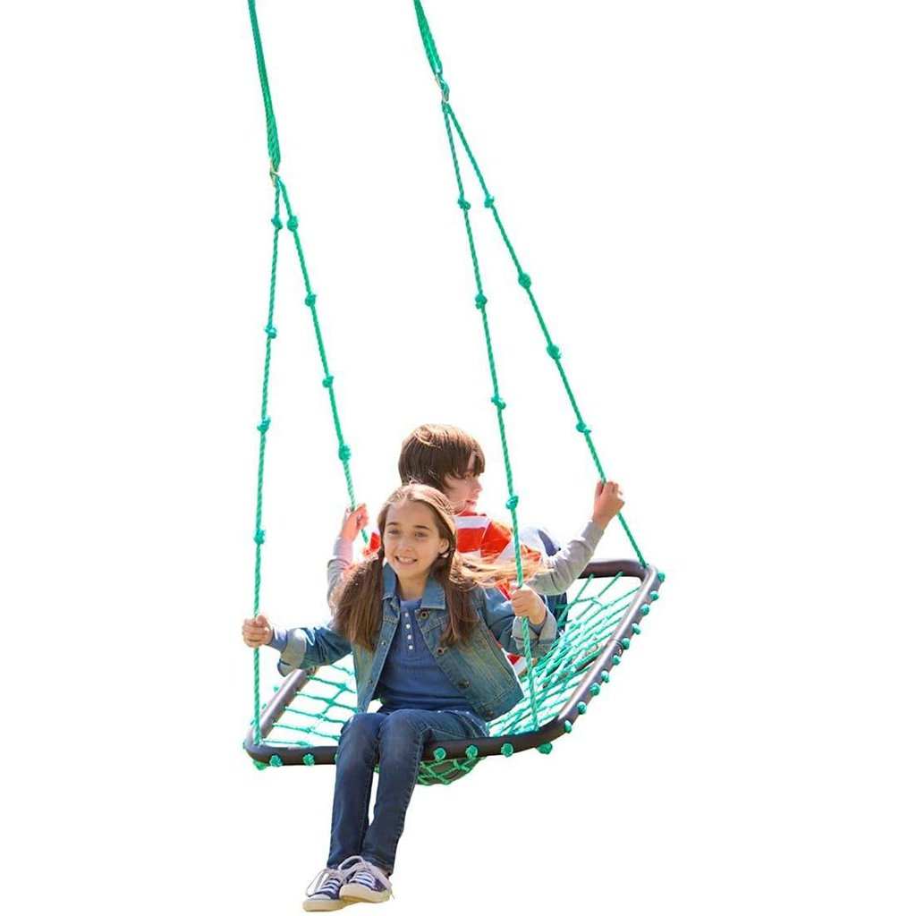 Platform Swing, Nylon Rope and Padded Steel Frame