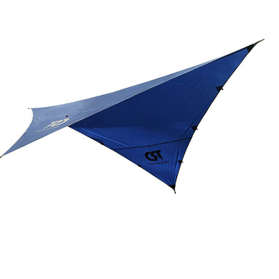 Twisted Root Design Hammock Rainfly: Navy Blue