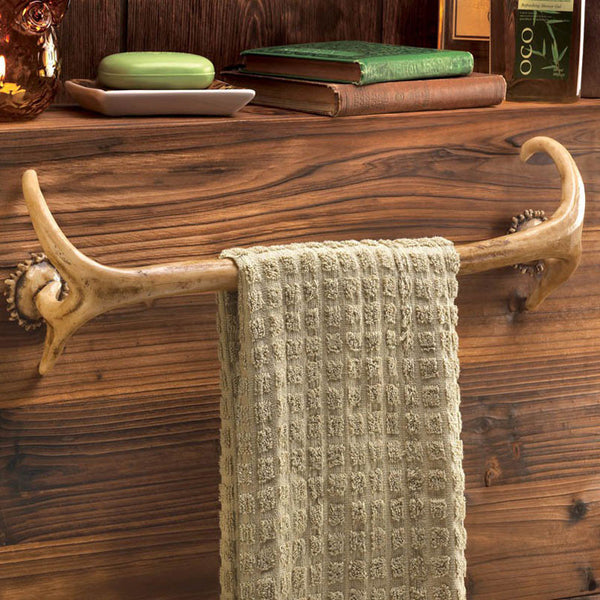 Antler Towel Bar
