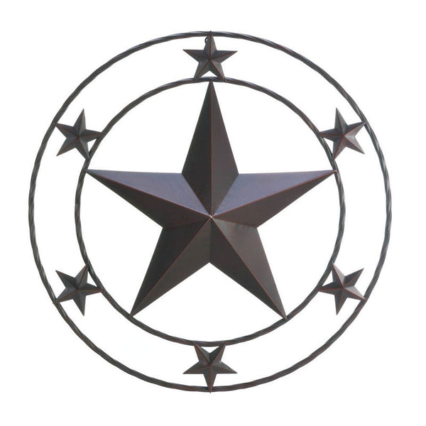 Lone Star Metal Wall Plaque
