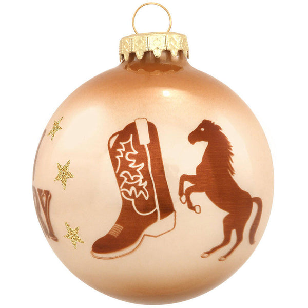 Born Country Glass Horse Ornament 1167750