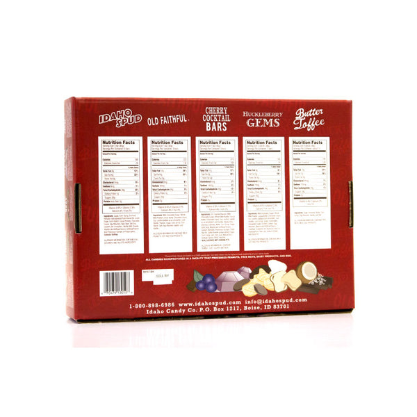 Idaho Candy Large Variety Pack Candies