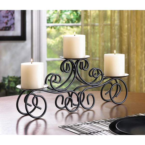 Wrought Iron Candle Centerpiece
