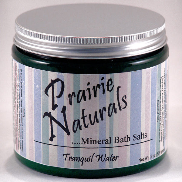 Prairie Soap Co. Tranquil Waters Spa Mineral Bath Salts HB1057