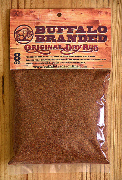 8 oz Buffalo Branded Original Dry Rub Seasoning V1002
