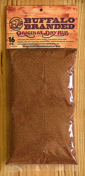 16 oz Buffalo Branded Original Dry Rub Seasoning V1003