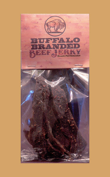 Buffalo Branded Black Peppercorn Beef Jerky V1054