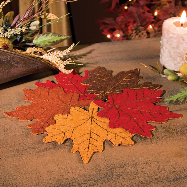 Harvest Autumn Leaf Table Centerpiece 32876